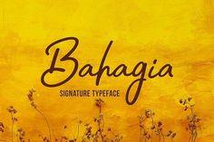 Bahagia by Locomotype on @creativemarket