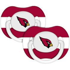 Baby Fanatic Arizona Cardinals Pacifers - 2 Pack $7.99