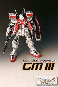 GUNDAM GUY: 1/72 RGM-86R GM III 'Nouvel' - Painted Build
