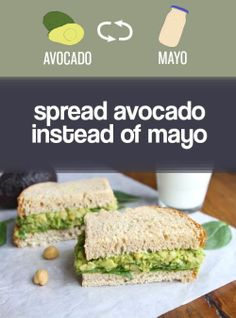 Avocado is full of good-for-you fats!