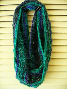 Lacy Ladder Cowl: free simple & quick crochet pattern by Molly Dumbris Crochet Scarves, Crochet Shawl, Crochet Clothes, Knit Crochet, Freeform Crochet, Quick Crochet, Single Crochet, Free Crochet, Crochet Winter