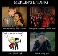 When I first started watching Merlin I had no idea the emotional trauma I would go through.