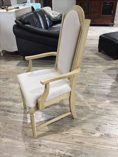Two chairs purchased for $29.00...re fabric