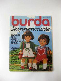 Burda Puppenmode 1980 E508 von GretaunddasRotkaeppchen auf DaWanda.com