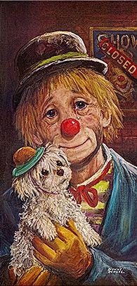 Dianne Dengel - Sad Clown