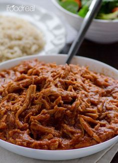 Clean Crock Pot Pulled Pork Recipe. If we want real food, I say pulled pork.