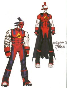 Kid Gladiator by Chris Bachalo [ Wolverine and the X-Men ]