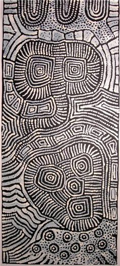 Aboriginal Artwork by Raelene Stevens. Sold through Coolabah Art on eBay.