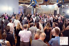 Absolutely LOVE this dancing crowd at a henry ford museum wedding: marnie & andrew - Kristen Taylor Photography Blog