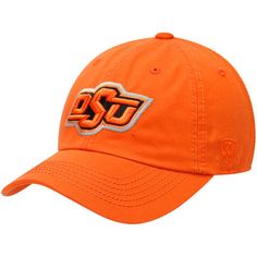 on sale b13dc 53341 Men s Top of the World Orange Oklahoma State Cowboys Solid Crew Team Adjustable  Hat