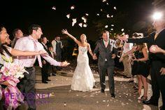 Ashton Depot, Fort Worth - Reception #FortWorthWeddings #Reception #Getaway #Bride #Classic #RosePetals #Pink