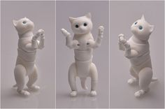 BJD cat British. Height at the back of 5cm by ElleoDolls on Etsy