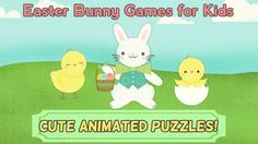 Easter Bunny Games for Kids: Easter Egg Hunt Jigsaw Puzzles HD for Toddler and Preschool<p>Do your kids love Easter? Do they love the Easter bunny, Easter egg hunts, Easter baskets, and puzzles too? Look no further. Easter Bunny Games for Kids: Easter Egg Hunt Jigsaw Puzzles HD for Toddler and Preschool is a fun animated puzzle game for toddlers, preschoolers, and kids from ages 2 to 6.<p>The app includes twelve different child and toddler friendly, jigsaw-style puzzles with options to…
