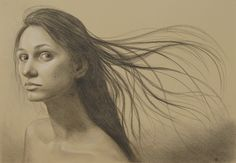Charcoal Portrait by ~whichwaysup on deviantART
