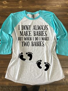 Hey, I found this really awesome Etsy listing at https://www.etsy.com/listing/269817968/twin-pregnancy-shirt-twin-pregnancy