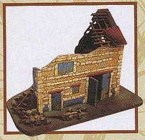 Imex WWII Barn Polystone Plastic Model Military Diorama 1/72 Scale #6500