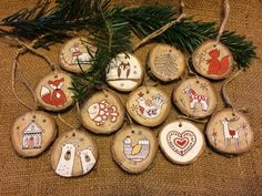 My Christmas wooden decoration diy