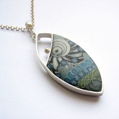 Silver and metal clay by Fiann., via Flickr