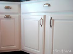 shaker style cabinet hardware - Google Search