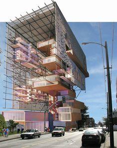 public architecture   communication: 2030 challenge architectural competition vancouver - designboom | architecture