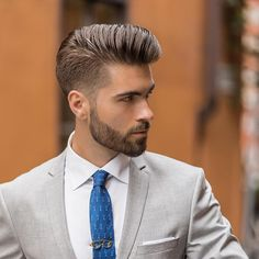 Finding The Best Short Haircuts For Men Hair Men Style, Hot Hair Styles, Hair And Beard Styles, Short Beard, Short Hair Cuts, Best Short Haircuts, Haircuts For Men, Men's Grooming, Hairstyles Haircuts
