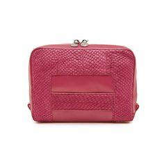 Midnight pink Lilli salmon leather shoulder bag clutch 3599 Leather Shoulder Bag, Salmon, Coin Purse, Wallet, Purses, Studio, Pink, Bags, Handbags