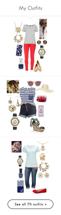 """""""My Outfits"""" by briony-jae ❤ liked on Polyvore featuring Hudson Jeans, Topshop, Blue Nile, H&M, Bee Charming, Splendid, UGG Australia, C. Wonder, Reger by Janet Reger and Paige Denim"""