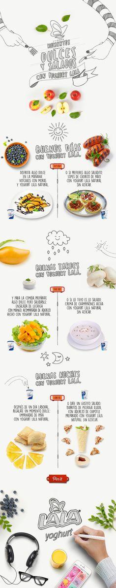 Disfruta de tu #momento dulce o salado en compañía de #Yoghurt LALA. ¿Cuál es tu favorito?