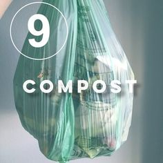 Day 9 of the zero waste challenge! Are you composting?