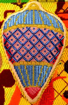 Pocket Full of Stitches: Deck the halls with needlepoint ornaments!