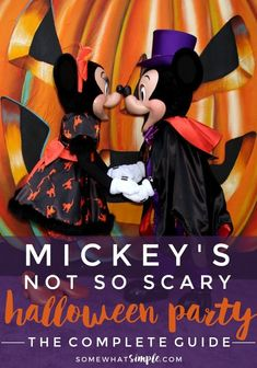 Helpful tips for planning your trip to Mickey's Not So Scary Halloween Party. The Ultimate Guide to Halloween at Disney with helpful tips for planning your trip to Mickey's Not So Scary Halloween Party. Disney Halloween Parties, Disney World Halloween, Disney Halloween Shirts, Fairy Halloween Costumes, Halloween Toys, Halloween Party Supplies, Vintage Halloween, Halloween Ideas, Ghost Costumes