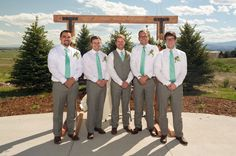 Groomsmen / Windsong Estate / June 28 Wedding / Roe Photography