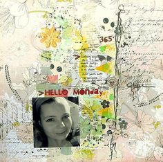 Layout by Magda Bolinska using Rondelle collection for Prima