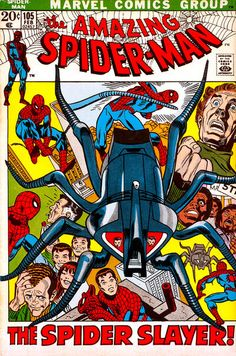 Cover for The Amazing Spider-Man (Marvel, 1963 series) #105
