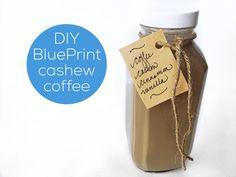 Homemade BluePrint Organic Cold Pressed Cashew Coffee #dairyfree #vegan | jannyorganically.com