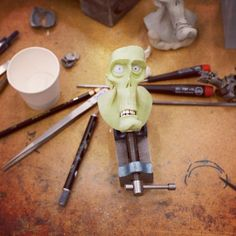 In the Studio: The Making of ParaNorman - Instagram Blog