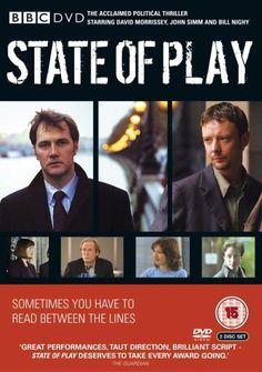 State Of Play - Complete Series [2003] [DVD]: Amazon.co.uk: John Simm, Kelly MacDonald, James McAvoy, David Yates, David Morrissey, Bill Nighy, Hilary Bevan Jones, Paul Abbott: DVD & Blu-ray