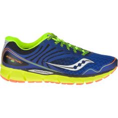 Zapatillas Saucony Phoenix 8 azul naranja plata colorful and