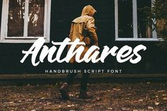 Anthares Font by Wacaksara Co. on @creativemarket