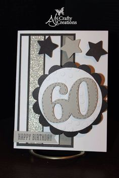 Ctmh male 60th birthday card
