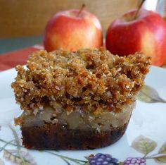 Paleo Cinnamon Apple Bars #glutenfree #grainfree #paleo