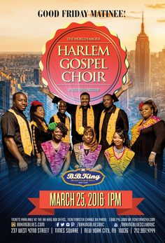 Harlem Gospel Choir - Good Friday Matinee (3.25.16)