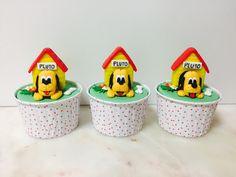 Cupcakes  Mickey  Pluto