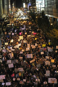 Denver - Donald Trump victory protests - Pictures - CBS News
