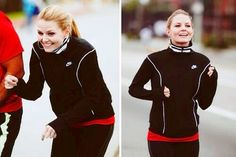 Jennifer Morrison. How can you look that good while running ? HOW ??