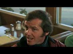 Jack Nicholson in Five Easy Pieces...cheese sandwich scene!