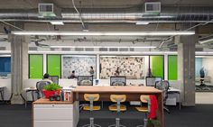 The Climate Corporation | O+A #office #interiordesign #workplace