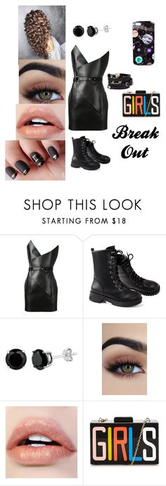 """""""<¤\\break out//¤>"""" by dreamerz-dream-on ❤ liked on Polyvore featuring Yves Saint Laurent, Versace and Nikki Strange"""