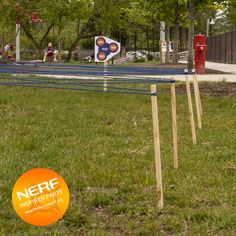 nerf party obstacle course party game