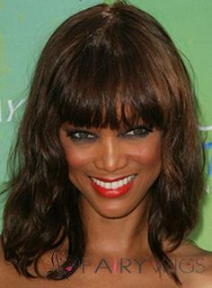 Dynamic Feeling from Medium Sepia 100% Indian Remy Hair Wigs for Black Women